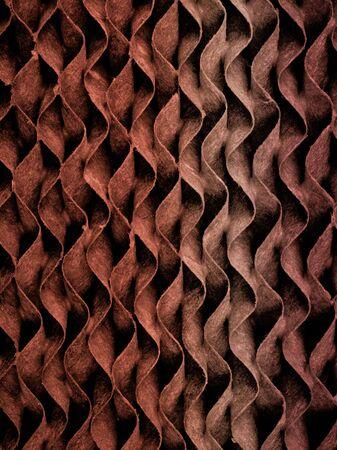 papel filtro: Patr�n y la textura del papel de filtro de ondas