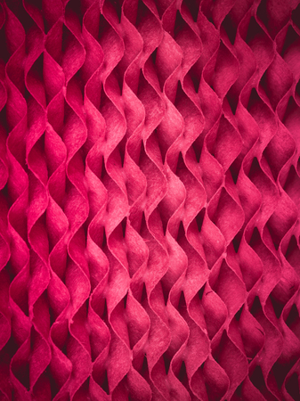 papel filtro: Patrón y la textura del papel de filtro de ondas