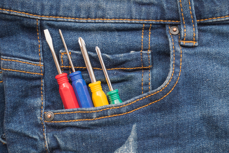 toolset: Put tools in jeans