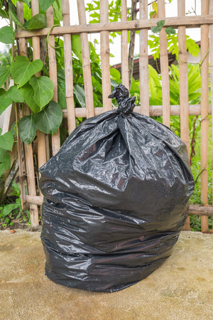 garbage bag: Garbage bag Stock Photo