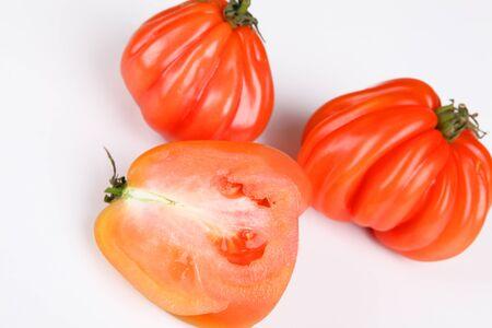 beefsteak: beefsteak tomatoes Stock Photo