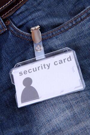 legitimize: security card