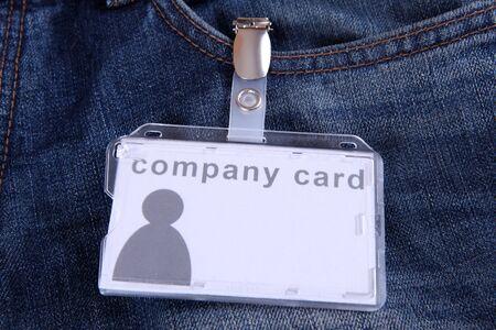 legitimize: company card