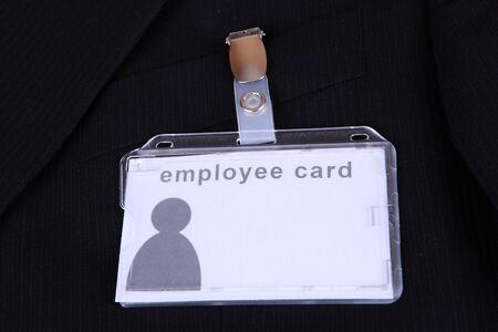 legitimize: employee card