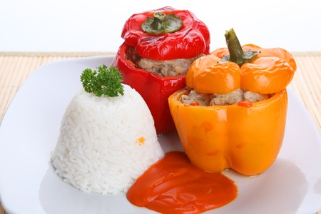 peppers: stuffed peppers