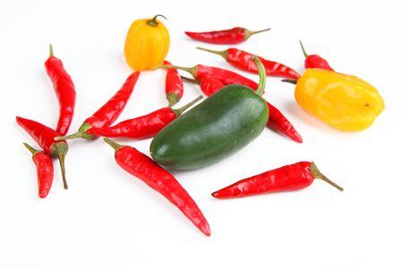 red jalapeno: chili Stock Photo
