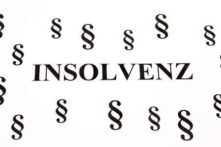 Insolvency 版權商用圖片