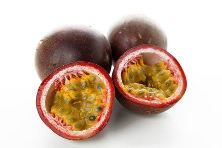 halved  half: passionfruit