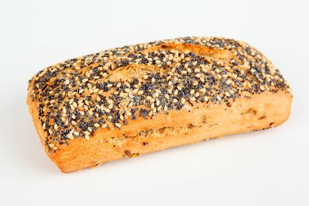 sesame seeds: roll with poppy and sesame seeds