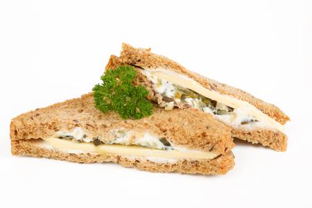 multigrain sandwich with cheese Stok Fotoğraf
