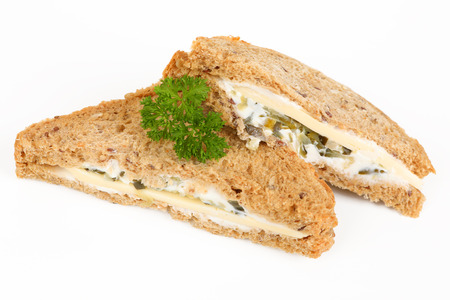 multigrain sandwich with cheese Stok Fotoğraf