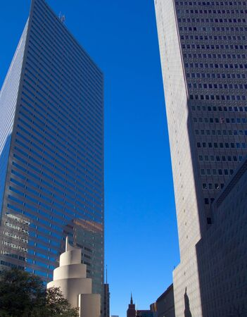 downtown district: Skyscrapers at Dallas Downtown District