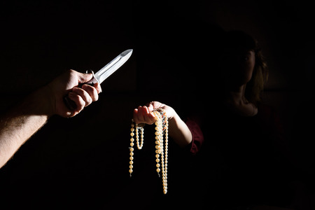 criminal: criminal threatening with a knife Woman robs.
