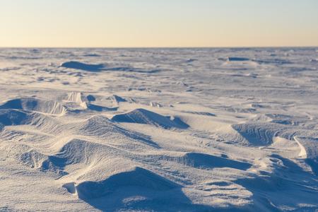 snow forms Banco de Imagens