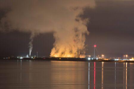Seabank Power Station - night
