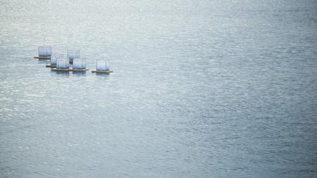 Water lanterns Standard-Bild