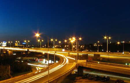 Snelweg By Night