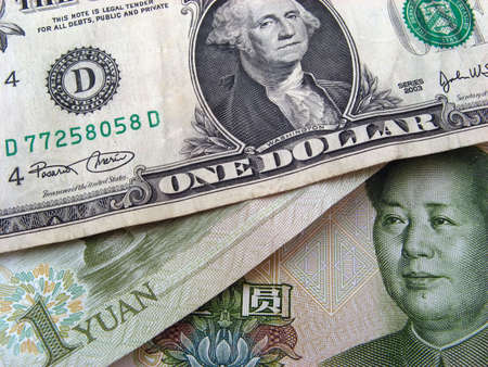 One Dollar and Chinese One Yuan