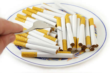 nicotinic: Cigarettes for Meal