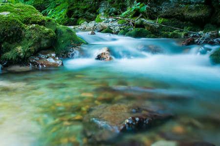 rapid: Kaludra River, Montenegro Stock Photo