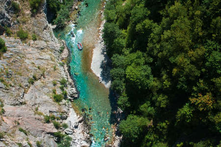 tara: Tara River, Montenegro Stock Photo