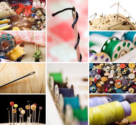 maquina de coser: Elementos de costura