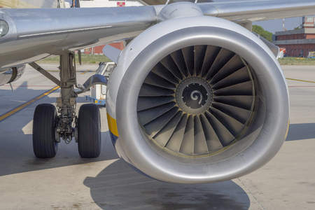 turbine airliner reaction Stock fotó