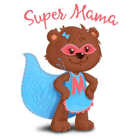 Bear mother Supemom