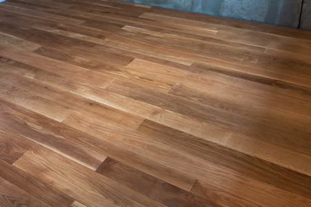 the laid floor from a tree for creation of interior design
