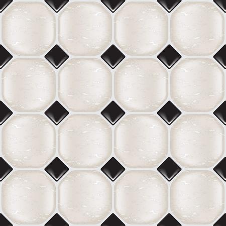 marble flooring: Mattonelle di marmo nei toni naturali, senza soluzione di continuit�. Vettoriali