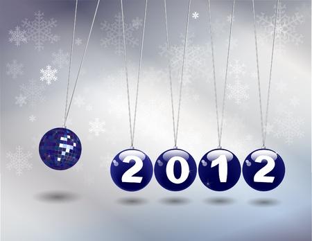 formato: Newtons cradle 2012. ES10 vector format.
