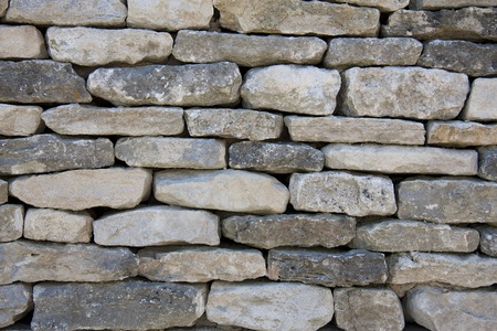 dry stone: A background texture of a typically English dry-stone wall.  Stock Photo