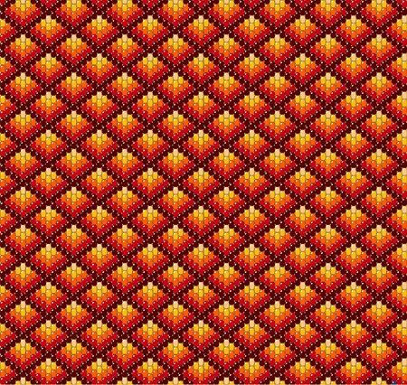bead: Beadwork background in earth tones.