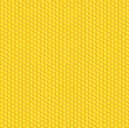bees: A vector illustration of a honeycomb background Illustration