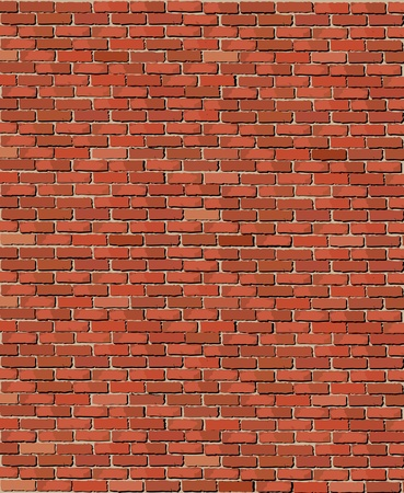illustration of an old brick wall Vector