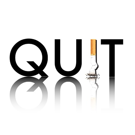 quit smoking: New Year