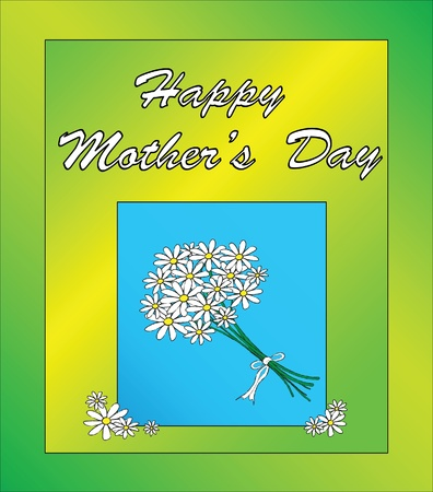 A Mother s day card template Vector