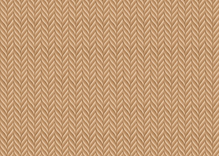 An abstract vector background based on knitted fabric in natural colours Vector