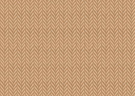 sueter: Un fondo abstracto del vector sobre la base de tejido de punto en colores naturales Vectores