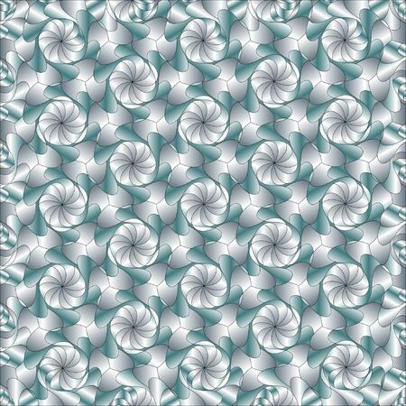 An abstract background vector. Swirls in shades of grey and green Stock Vector - 12235518