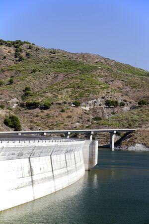 Rules Dam & Reservoir, Velez de Banaudalla, Granada, Andalucía, Spain Stock Photo - 12235532