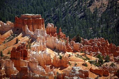 hoodoo: The Hoodoo rock spires of Bryce Canyon, Utah, USA  Stock Photo