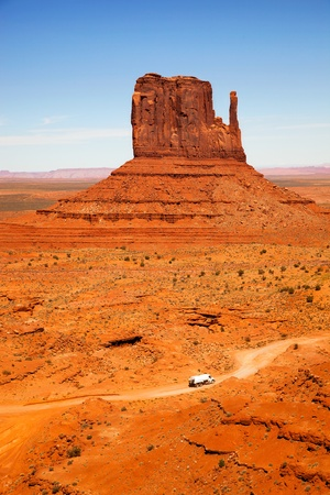 The unique landscape of Monument Valley, Utah, USA photo