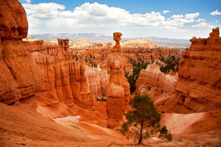national monuments: Thors Hammer, Bryce Canyon, Utah, USA