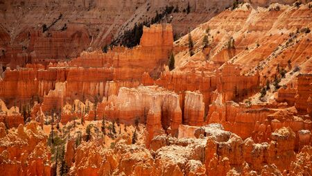 The Hoodoo rock spires of Bryce Canyon, Utah, USA. photo