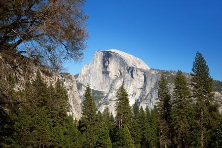 dome rock: Half Dome rock in Yosemite National Park