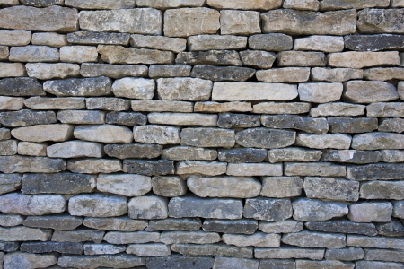 dry stone: A background texture of a typically English dry-stone wall