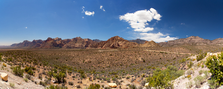 A panorama of Red Rock Canyon, Las Vegas, Nevada, USA photo
