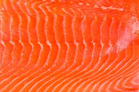 Ein Hintergrund der frisch geräucherter Lachs Standard-Bild - 23176831