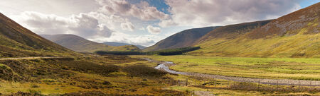 natural  moody: Panoram of the Scottish Highlands